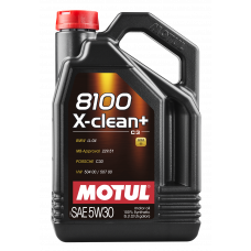 8100 X-clean + 5W30